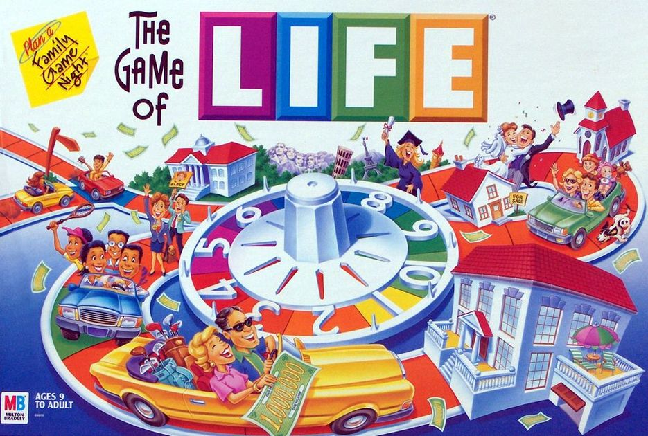 the game of life board game boardgamegeek