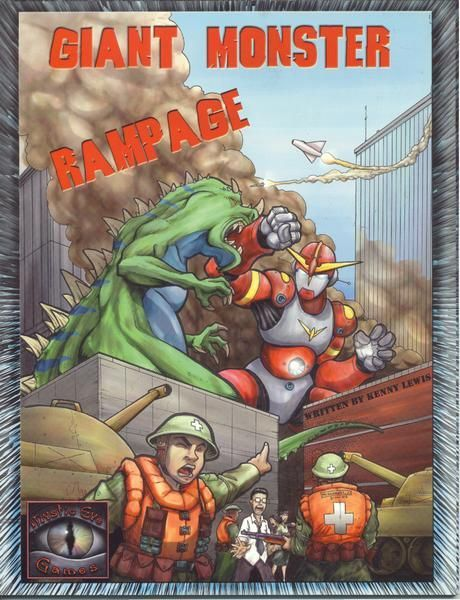 Giant Monster Rampage Board Game Boardgamegeek