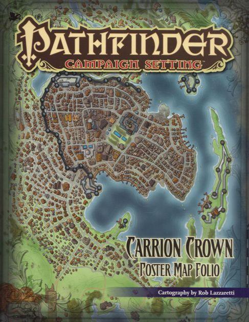 Carrion Crown Poster Map Folio Rpg Item Rpggeek