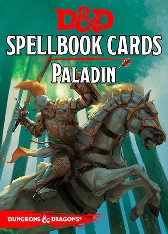 Spellbook Cards: Paladin | RPG Item | RPGGeek