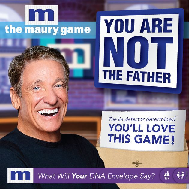 Maury Show Full Episodes 2020.The Maury Game You Are Not The Father Board Game
