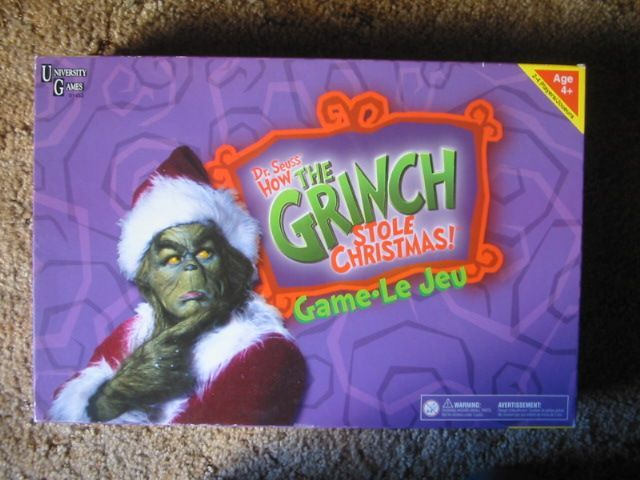 dr seuss how the grinch stole christmas game movie edition board game boardgamegeek - How The Grinch Stole Christmas Games