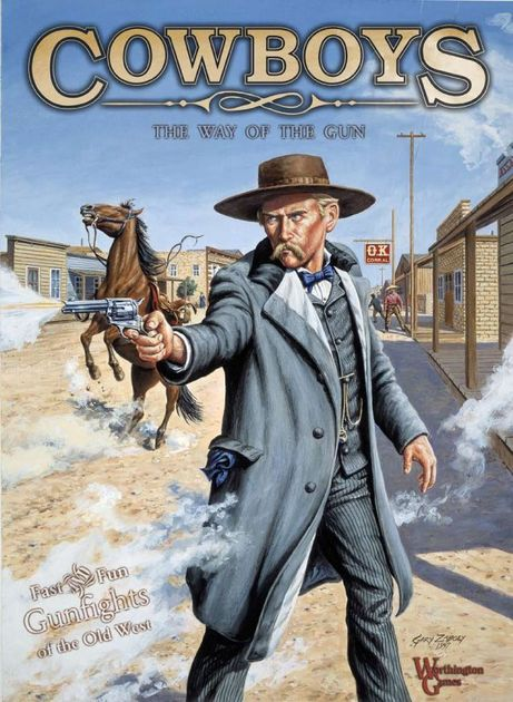 cowboys the way of the gun board game boardgamegeek