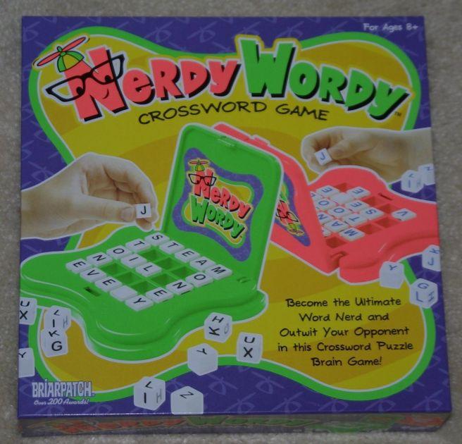 Nerdy Wordy Crossword Game