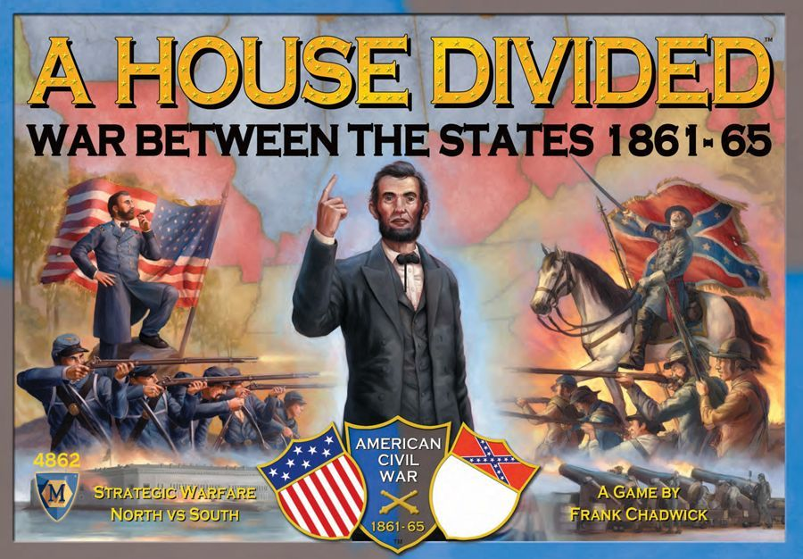 A House Divided: War Between the States 1861-65 | Board Game ...