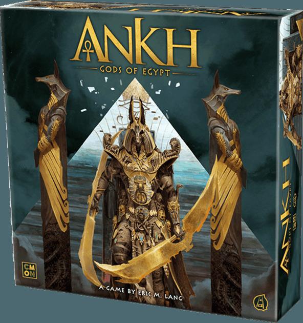 CMON KS Update | Ankh: Gods of Egypt | BoardGameGeek