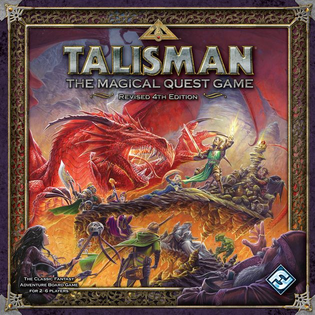 Talisman (Revised 4th Edition) | Board Game | BoardGameGeek