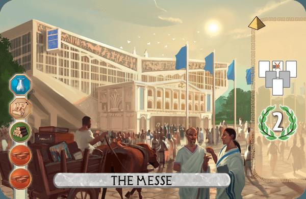 Messe The Convention Centre 2015 7 Wonders Duel Promo Card Essen