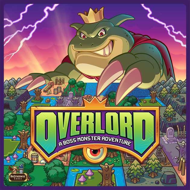 Overlord: A Boss Monster Adventure | Board Game | BoardGameGeek