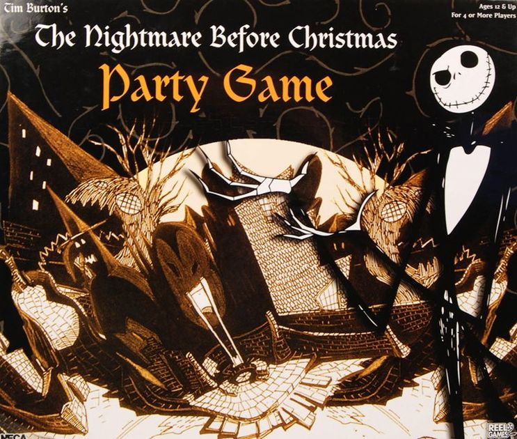 nightmare before christmas party game board game boardgamegeek