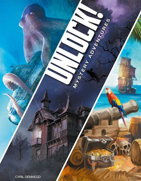 QnA VBage Review: Unlock! Mystery Adventures:: Unlock! The Second Trilogy (Mystery Adventures) - A Bundle Review (No Spoilers)