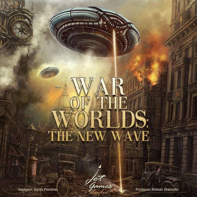 War of the Worlds: The New Wave – BoardGameCo