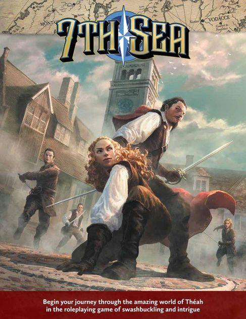 7th Sea Core Rulebook   RPG Item   RPGGeek