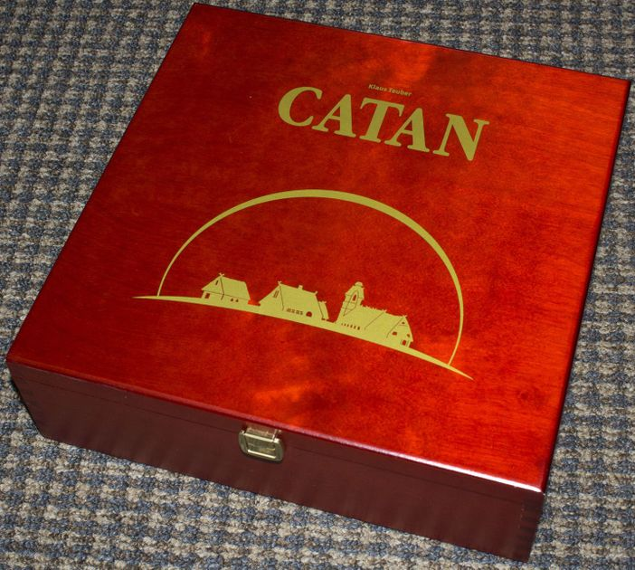 The Settlers Of Catan Containing 56 Player Expansion Board Game