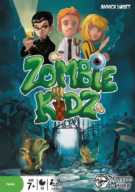 Zombie Kidz | Board Game | BoardGameGeek