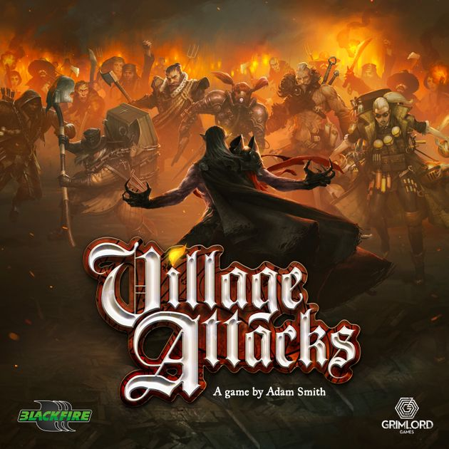 Horrors of the Sands Expansion Board Game Village Attacks
