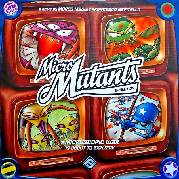 Micro Mutants: Evolution | Board Game | BoardGameGeek