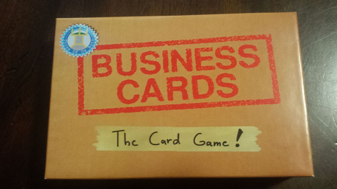 Business Cards The Card Game Board Game Boardgamegeek