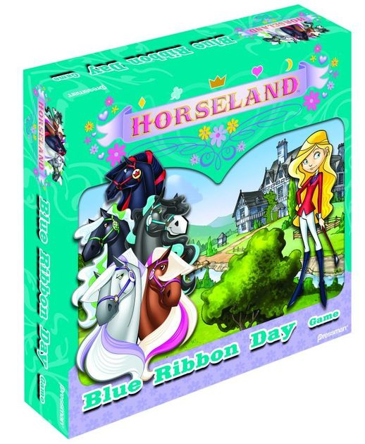 Horseland: Blue Ribbon Day Game | Board Game | BoardGameGeek