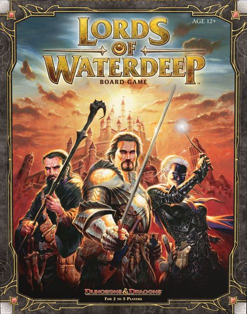 Lords Of Waterdeep Board Game Boardgamegeek