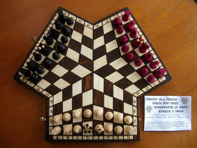 Rules? | Chess for Three | BoardGameGeek