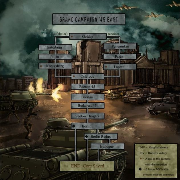 Panzer Corps Grand Campaign '45 East - Let the body count