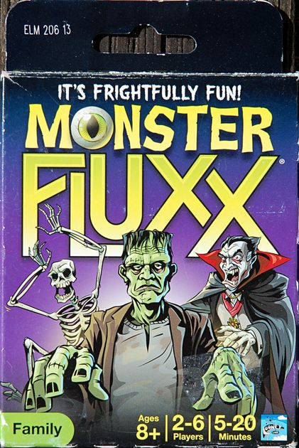 Monster Fluxx | Board Game | BoardGameGeek