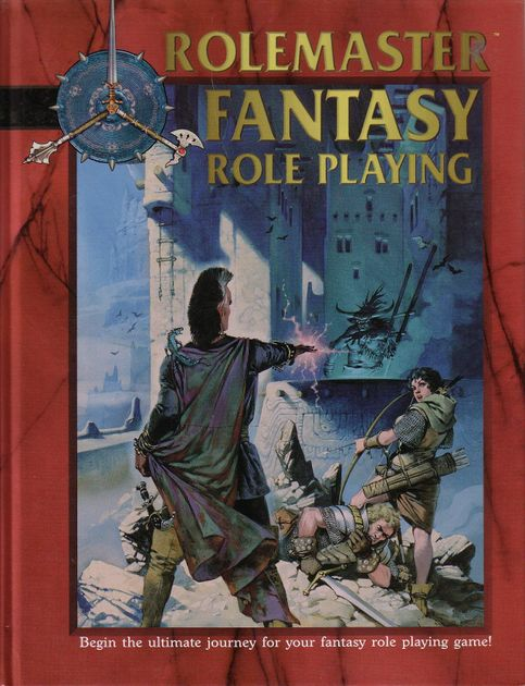 Rolemaster Fantasy Role Playing (RMFRP, 4th Edition)   RPG