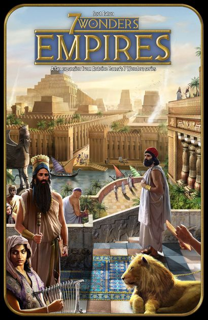 Empires Fan Expansion For 7 Wonders