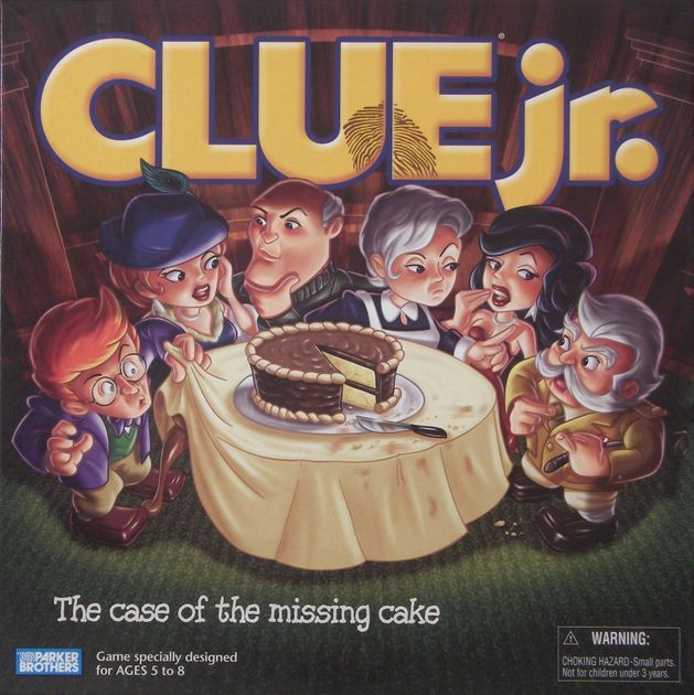 Clue Jr The Case Of The Missing Cake Board Game Boardgamegeek
