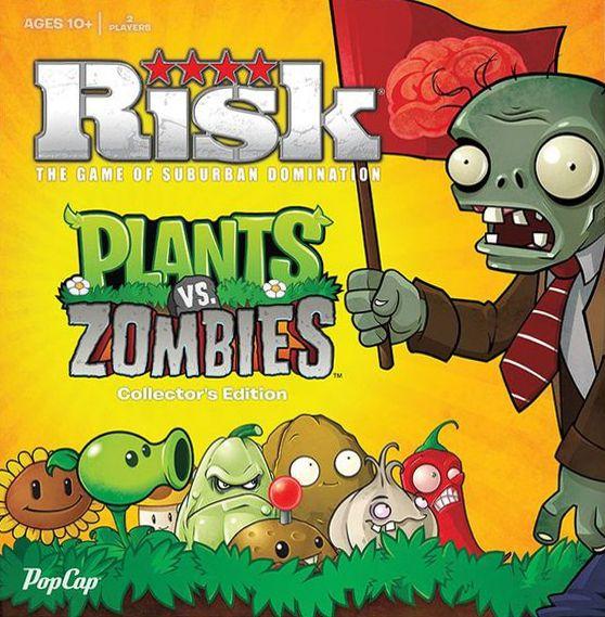 Risk: Plants vs  Zombies   Board Game   BoardGameGeek