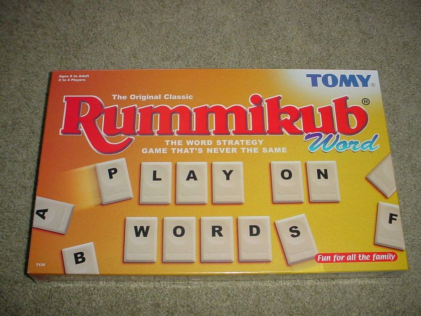 Word Rummikub Board Game Boardgamegeek