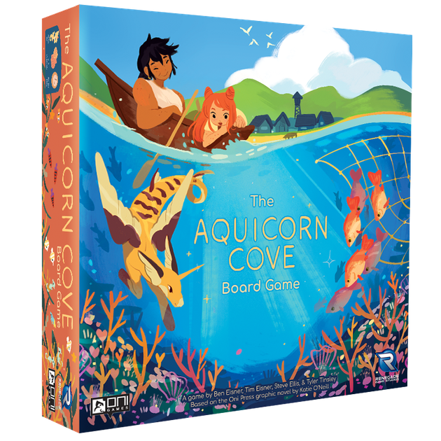 Gaming Bits The Aquicorn Cove Board Game Review Gaming Bits Board And Card Game Reviews Boardgamegeek