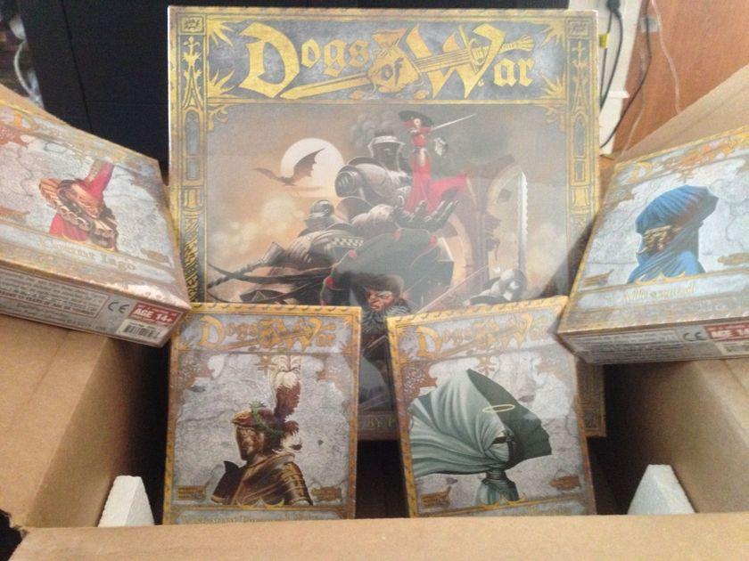 Dogs of War: Kickstarter Exclusives | Board Game | BoardGameGeek