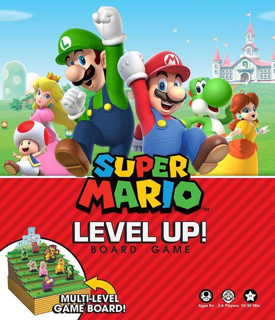 Super Mario: Level Up! Board Game | Board Game | BoardGameGeek