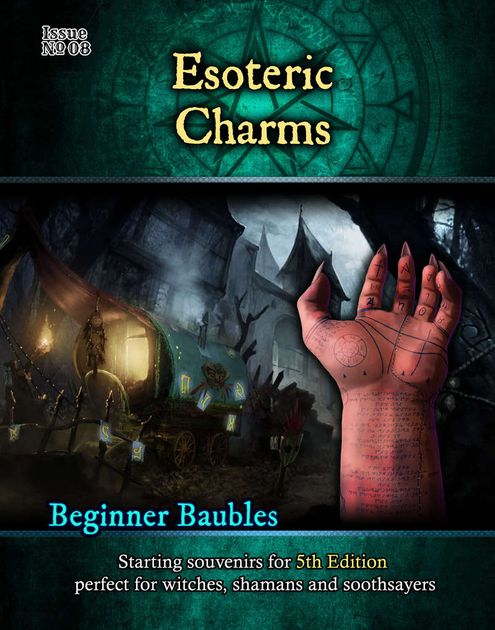 Beginner Baubles Issue No  08: Esoteric Charms | RPG Item