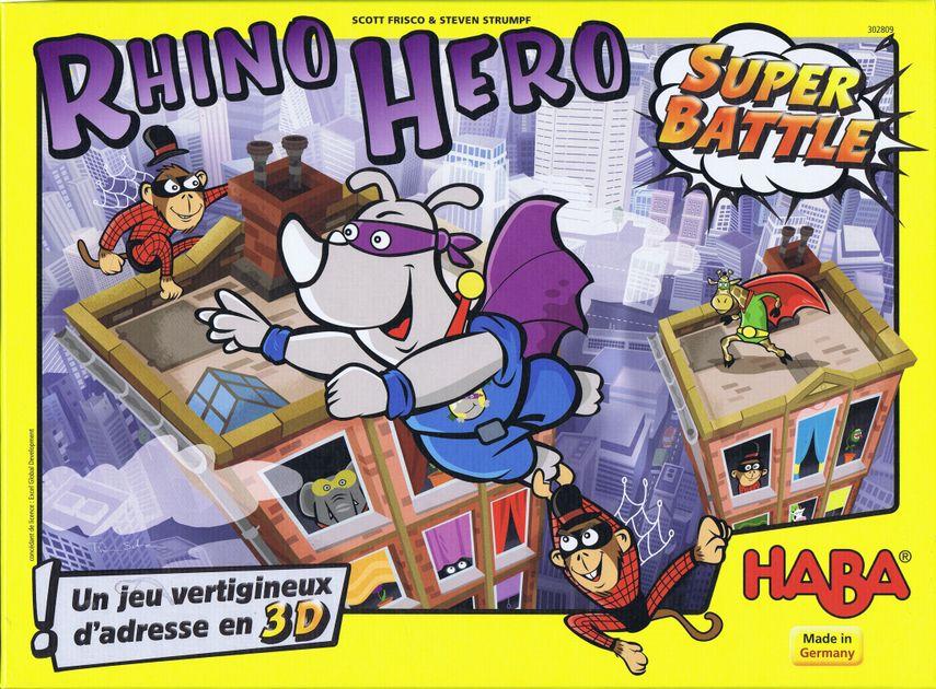 Rhino Hero: Super Battle | Board Game | BoardGameGeek