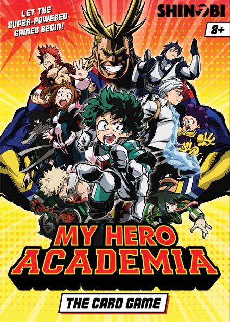 My Hero Academia The Card Game Board Game Boardgamegeek