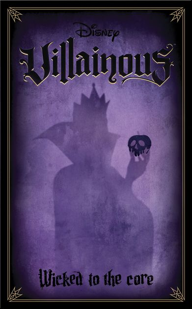 Wicked to the Core Disney Stand Alone or Expansion Villainous Game