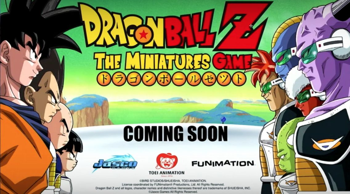 Dragon Ball Z The Miniatures Game
