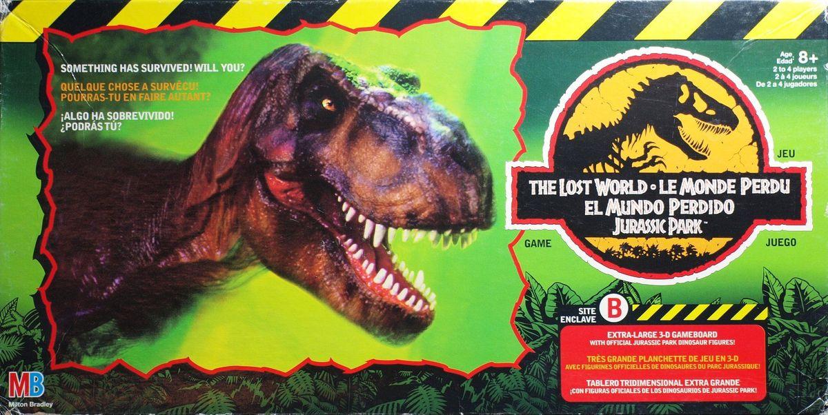 Elicottero Jurassic Park : The lost world jurassic park game board boardgamegeek