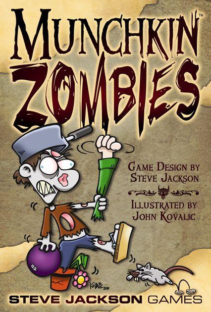Munchkin Zombies | Board Game | BoardGameGeek