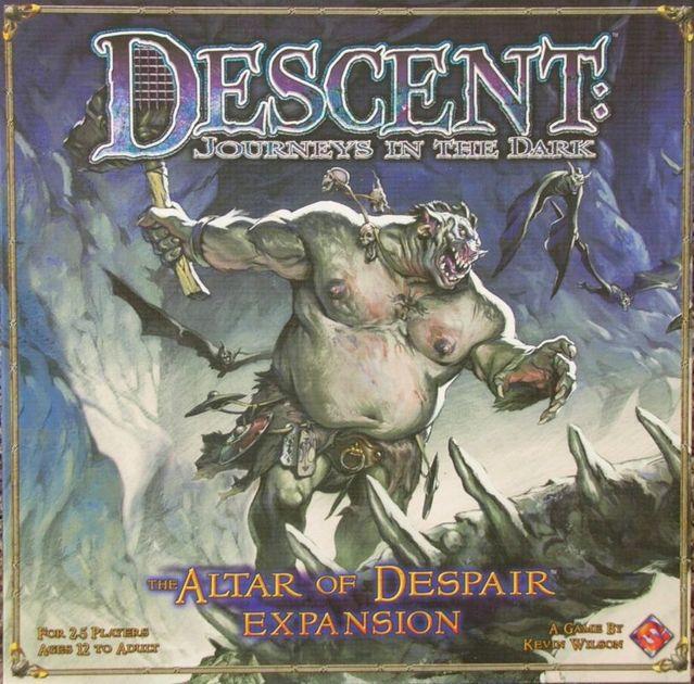 Descent: The Altar of Despair   Board Game   BoardGameGeek