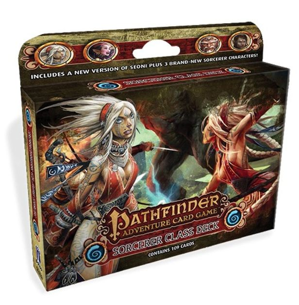 Pathfinder Adventure Card Game Class Deck Sorcerer Board Game