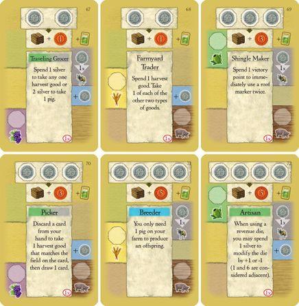 La Granja: 2nd Edition Promo Cards | Board Game | BoardGameGeek