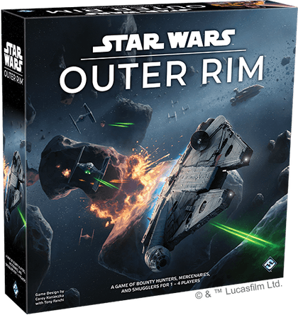 Star Wars: Outer Rim | Board Game | BoardGameGeek