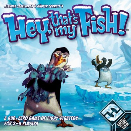 Hey, That's My Fish! | Board Game | BoardGameGeek