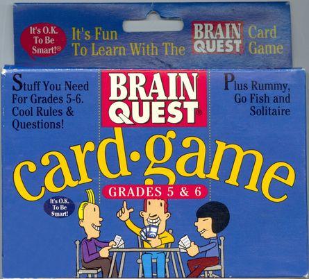 Brain Quest Card Game: Grades 5 & 6 | Board Game | BoardGameGeek