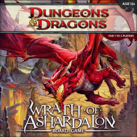 Dungeons Dragons Wrath Of Ashardalon Board Game Board Game Boardgamegeek