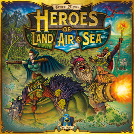 Heroes of Land, Air & Sea | Board Game | BoardGameGeek